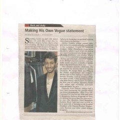 article about vogue at The New Indian Express