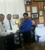 Signing of MOU with Mysore University