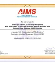 Life Time Institutional Membership of AIMS