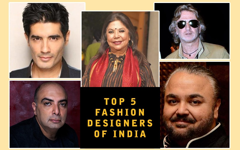 Top 5 Fashion Designers in India