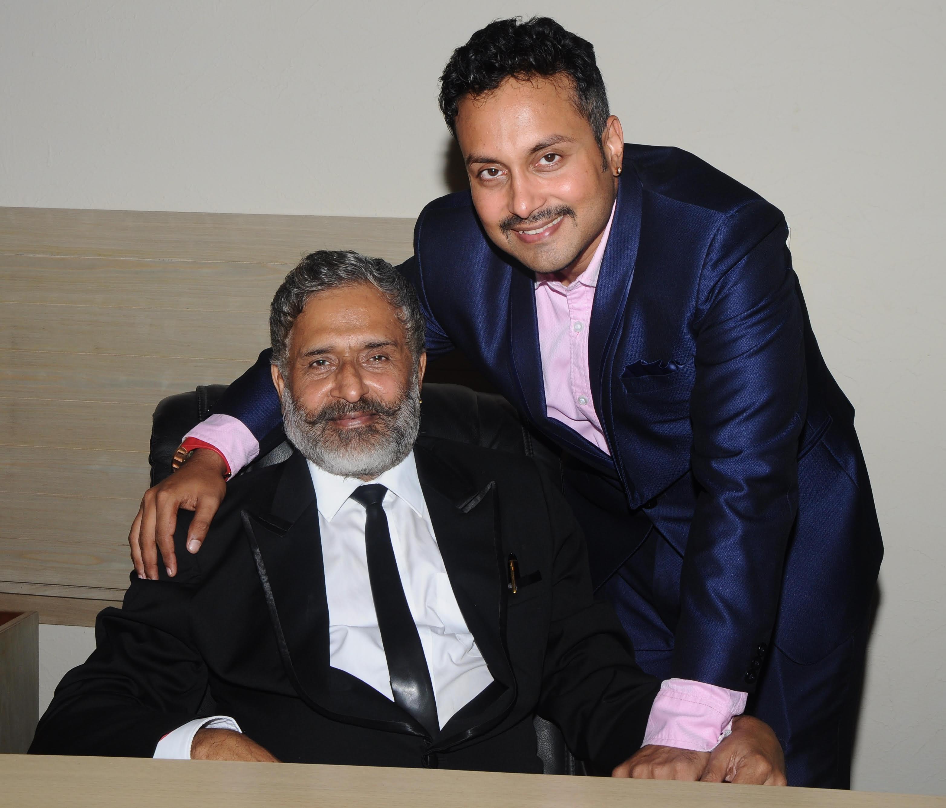 Dr M.M Kariappa & Mr Nishank Kariappa